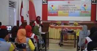 Palang Merah Indonesia (PMI) Blora membentuk Forum Relawan (Forel) dan Forum relawan pelajar Indonesia (Forpis).