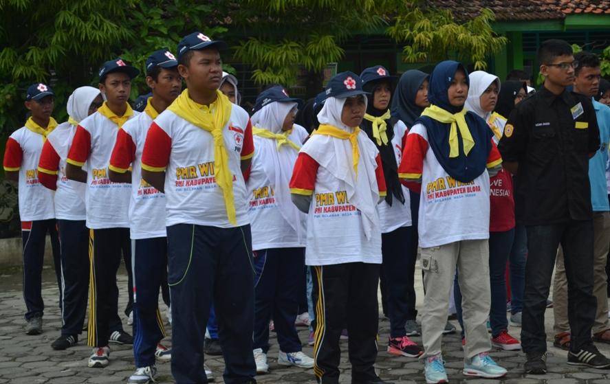 PMR Kabupaten Mengikuti Pembukaan Uji Kecapakan PMR se Korwil I di Kabupaten Grobogan 10 April 2016